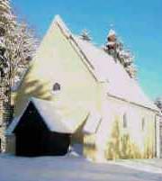 St-Nikolauskirche im Winter